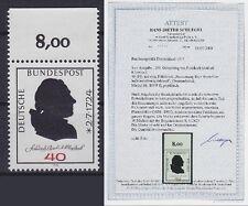 Bund Mi Nr. 809 F II ** TOP Fotoattest Schlegel BPP, Fehldruck 1974, postfrisch