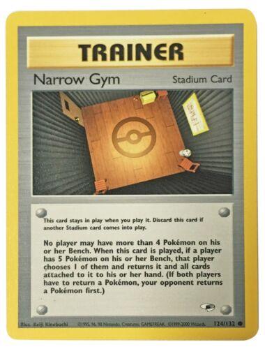 Gym Heroes Common Surge/'s Misty/'s Blaine/'s Brock/'s Erika/'s Lt Pokemon Cards