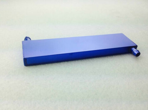 162x41x12MM Aluminum Blue Water Cooling Heatsink Block For CPU GPU VGA CARD