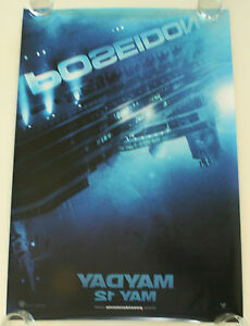 Details About Poseidon 27x40 Ds Movie Poster One Sheet New Authentic