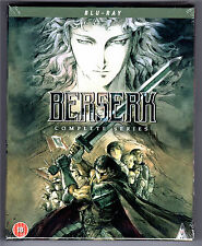 BERSERK KOMPLETTE SERIE 3-DISC BLU-RAY COLLECTOR'S EDITION NEU & OVP ANIME