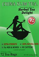 China Slim Tea Extra Strength For Men And Women 72 Tea Bags, New, Free Shipping on sale