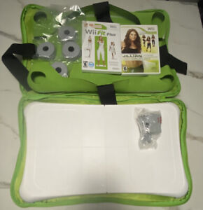 Nintendo Wii Fit Plus with Balance Board Excellent Shape.