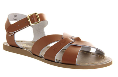 Salt Water Sandals Women's Original TAN Leather Sandals | eBay