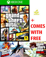 NEW Grand Theft Auto V 5 For The Microsoft Xbox One 1 + S GTA ONLINE GTAV GTA5