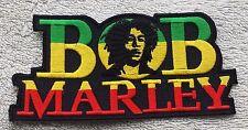 BOB MARLEY PATCH Cloth Badge/Emblem/Insignia Biker Jacket Bag Rasta One Love