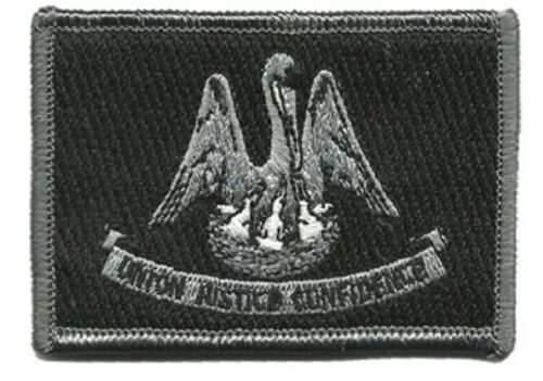 """BuckUp Tactical Patch Hook Louisiana Baton Rouge State Patches 3x2/"""""""
