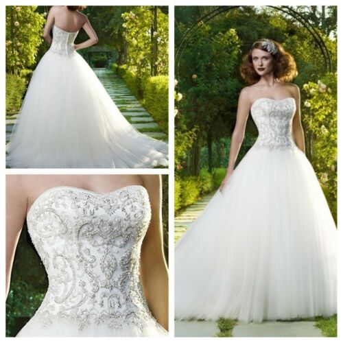 Casablanca Bridal 2071 sweetheart neckline