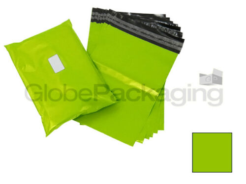 "165x230mm 100 x forte Lime Neon Verde 6x9 /""mailing affrancatura postale Sacchetti 6/"" x9 /"""