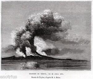 Vesuvio-Eruzione-26-Aprile-1872-Vesuvius-Veduta-Pittoresca-Passepartout-1876