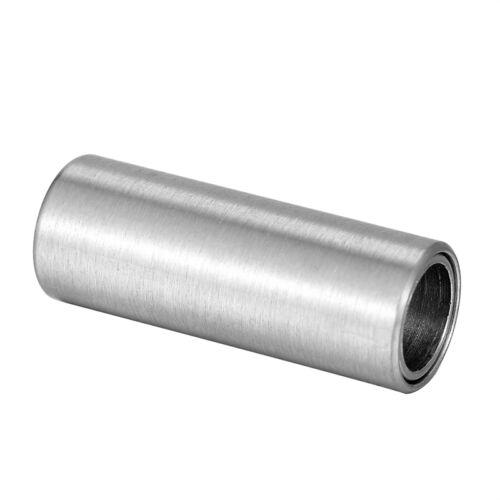 1 Silberfarbe Edelstahl Magnetverschluss Zylinder Kettenverschluß 16mmx6mm L//P