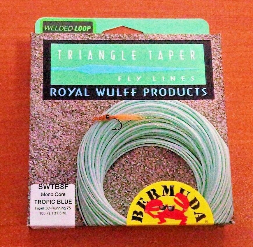 Royal Wulff Products Bermuda Triangle Taper Saltwater Floating Fly Line - 8wt