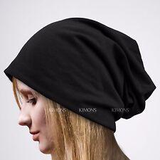 Oversize Plain Baggy Beanie Winter Ski Unisex Beret Slouchy Chic Hat Cap Skull