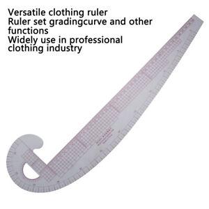Curva-di-plastica-Righello-per-cucire-metrico-Curva-di-curvatura-graduata-diLO
