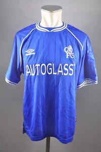 6b2cc8da56 Caricamento dell immagine in corso Chelsea-London -maglia-1999-2000-HOME-TAGLIA-M-