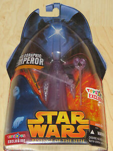 Star Wars ROTS Toys R Us Exclusive Darth Sidious Emperor LOOSE COMPLETE MINT