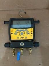Fieldpiece Sman3 Hvac 3 Port Digital Refrigeration Manifold Vacuum Gauge Nice