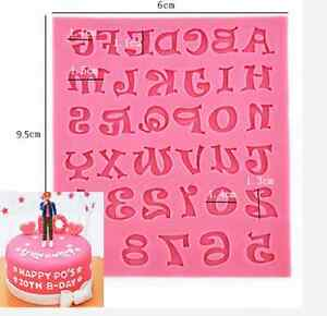 1PC-Silicone-Alphabet-Letter-Trays-Chocolate-Mold-Cake-Fondant-Decorating-Tools