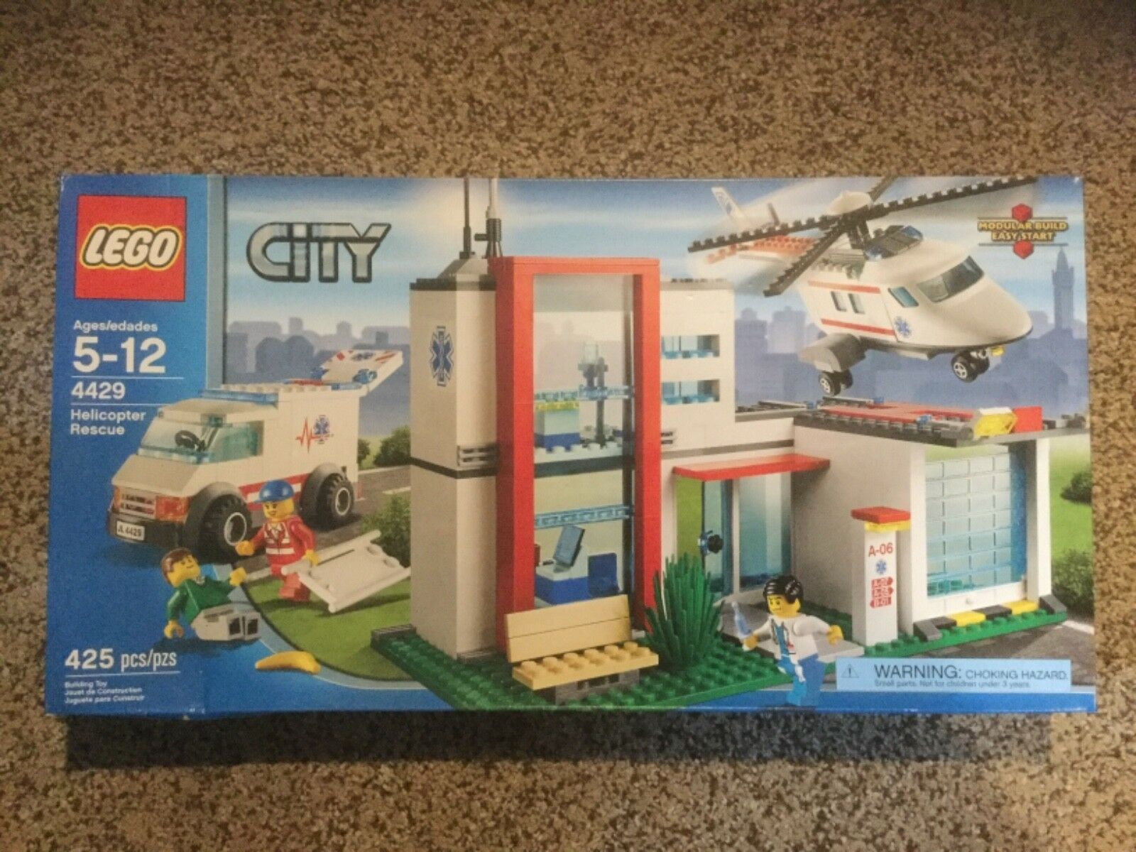 New In Box Box Box Lego City 4429 Helicopter Rescue 73a514