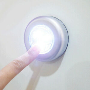 3-LED-Touch-Night-Light-Home-Cabinet-Coche-Push-Stick-encendido-con-pilasUPHWC