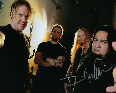 Honesty Gfa Fear Factory Band Full Range Of Specifications And Sizes And Great Variety Of Designs And Colors Signed Autographed 8x10 Photo D4 Coa Famous For High Quality Raw Materials Dino Cazares