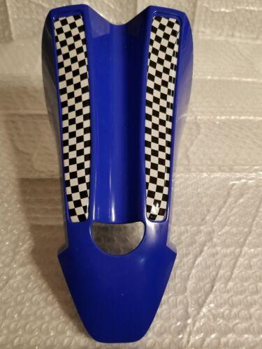 Uni Turbo seat bmx race intergrated 22.2mm post USA blue with black checker pad