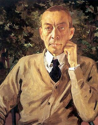 Somov People Repro Made in U.S.A Giclee Prints Sergei Rachmaninoff by K