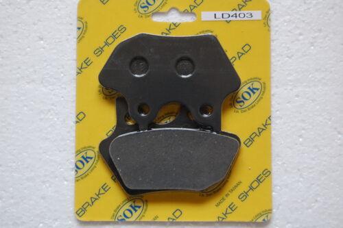 REAR BRAKE PADS fits HARLEY DAVIDSON Dyna Low Rider 1450 00-04 FXDL FXDLi 01 02