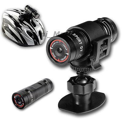 HD 1080p Sports Camera DVR Mini Action Helmet Camcorder Video Waterproof Cam F9
