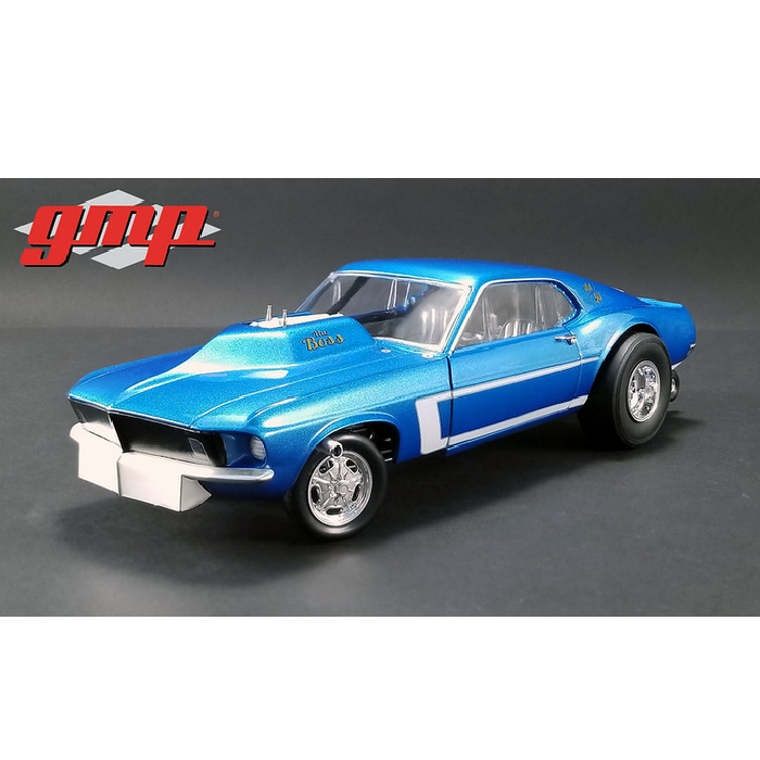 GMP – 1 18 Scale – The Boss AA GS  1969 Ford Mustang Boss Gasser Diecast Model  prix bas discount