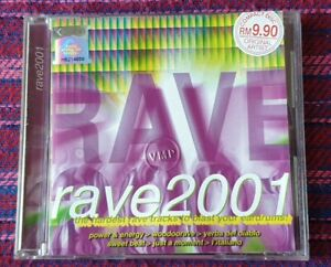 Various-Artist-Rave-2001-VMP-Malaysia-Press-Cd