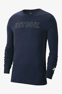 NEW-Nike-Authentic-Men-039-s-Just-Do-It-Long-Sleeve-T-Shirt-Size-S-M-L-2XL