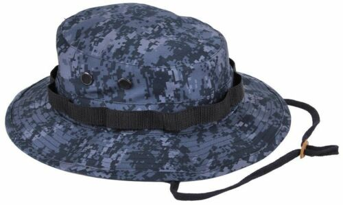 Boonie Hat Wide Brim Military Camo Hunting Camping Bucket Cap Rothco