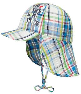 af6f2a82c05f8 Das Bild wird geladen DOLL-Jungen-Sonnenhut-Hut-Schirm-Nackenschutz -Muetze-Bunt-