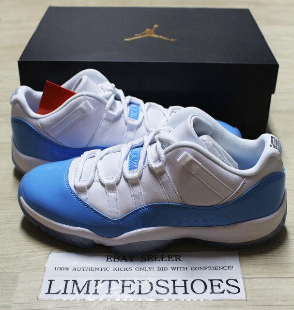 Nike Jordan 11 Retro Athletic Shoe for Men, Size 10.5 - University Blue
