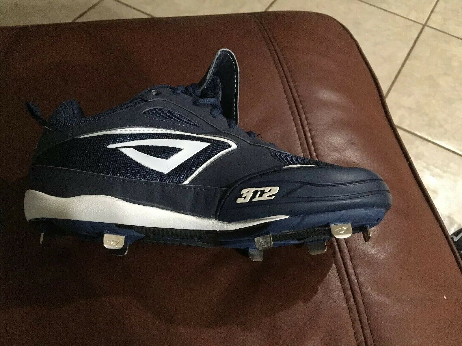 New mujer's 3N2 Navy blancoo Rally Metal PT Fastpitch Softball Softball Softball Cleats Talla 11 8ffc7b
