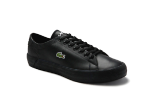 Lacoste-Men-039-s-Gripshot-0120-3-CMA-Leather-NEW-AUTHENTIC-Black-7-40CMA005002H