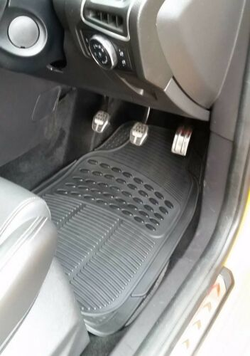 Waterproof BLACK Rubber Car Non-Slip Floor Mats Citroen Relay