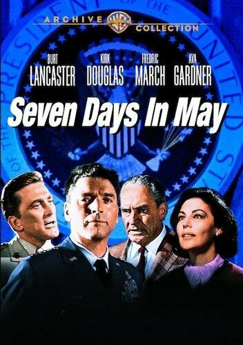 Seven Days in May DVD NEW