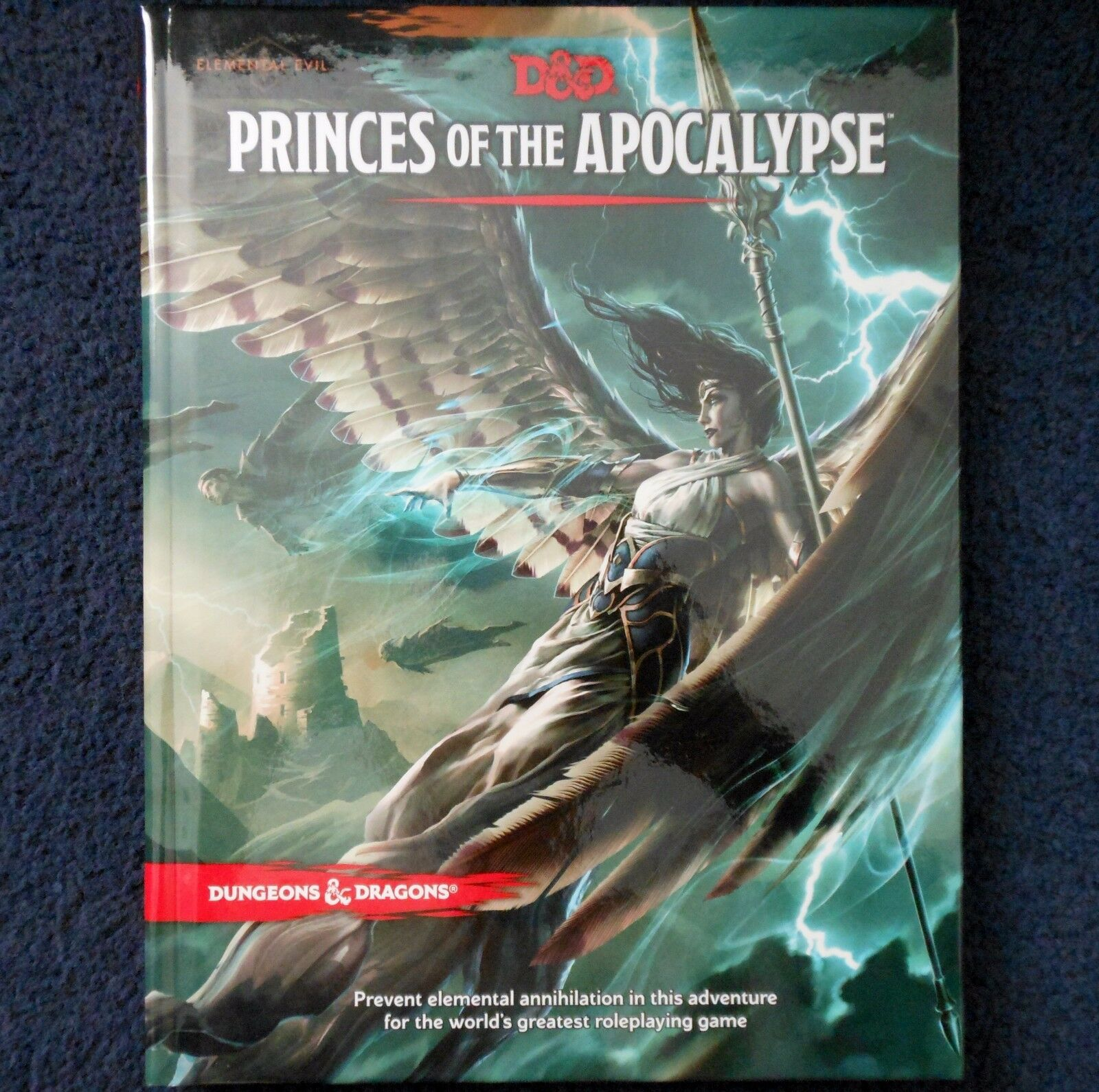 Princes of the Apocalypse 5th Edition Advanced Dungeons & Dragons Adventure D&D