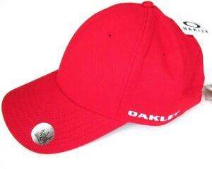 0dc70f6ea88 NWT Oakley Golf Ellipse Cap Hydrolix Cresting One Size Red 91938 UV ...