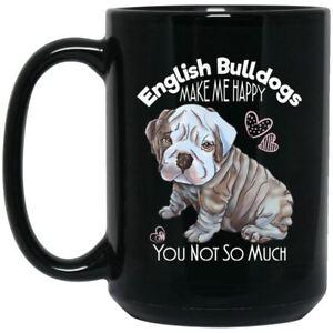 1cabf26484d Image is loading English-Bulldog-Mug-Funny-Black-Coffee-Mugs