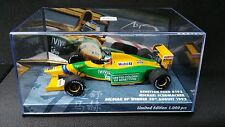 1:43 Minichamps BENETTON B192 Ford Michael Schumacher 92 GP Belga F1 447920019
