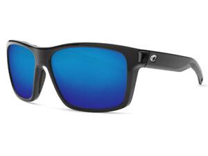 38cdd3b78fe75 NEW Costa Del Mar SLACK TIDE Black   580 Blue Mirror Glass 580G ...