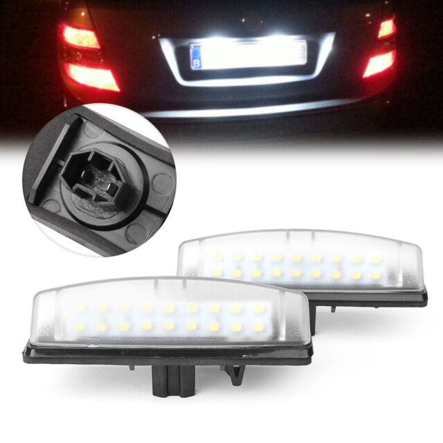 2x LED Number License Plate Light For Lexus IS300 IS200 LS430 Toyota Camry Echo