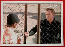 JAMES BOND - Quantum of Solace - Card #021 - Bond Hands The Guard His Card