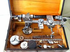 Vintage and Rare Watch makers lathe - 8 mm G Boley - quality German lathe