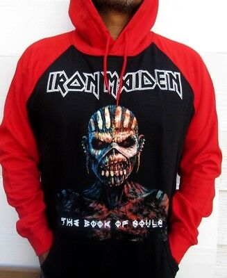 IRON MAIDEN BOOK OF THE SOUL TWO TONES HOODIES PUNK ROCK BLACK  MEN/'S SIZES