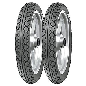 Coppia gomme pneumatici Pirelli MT 15 Mandrake 90//80-16 51J 110//80-14 59J