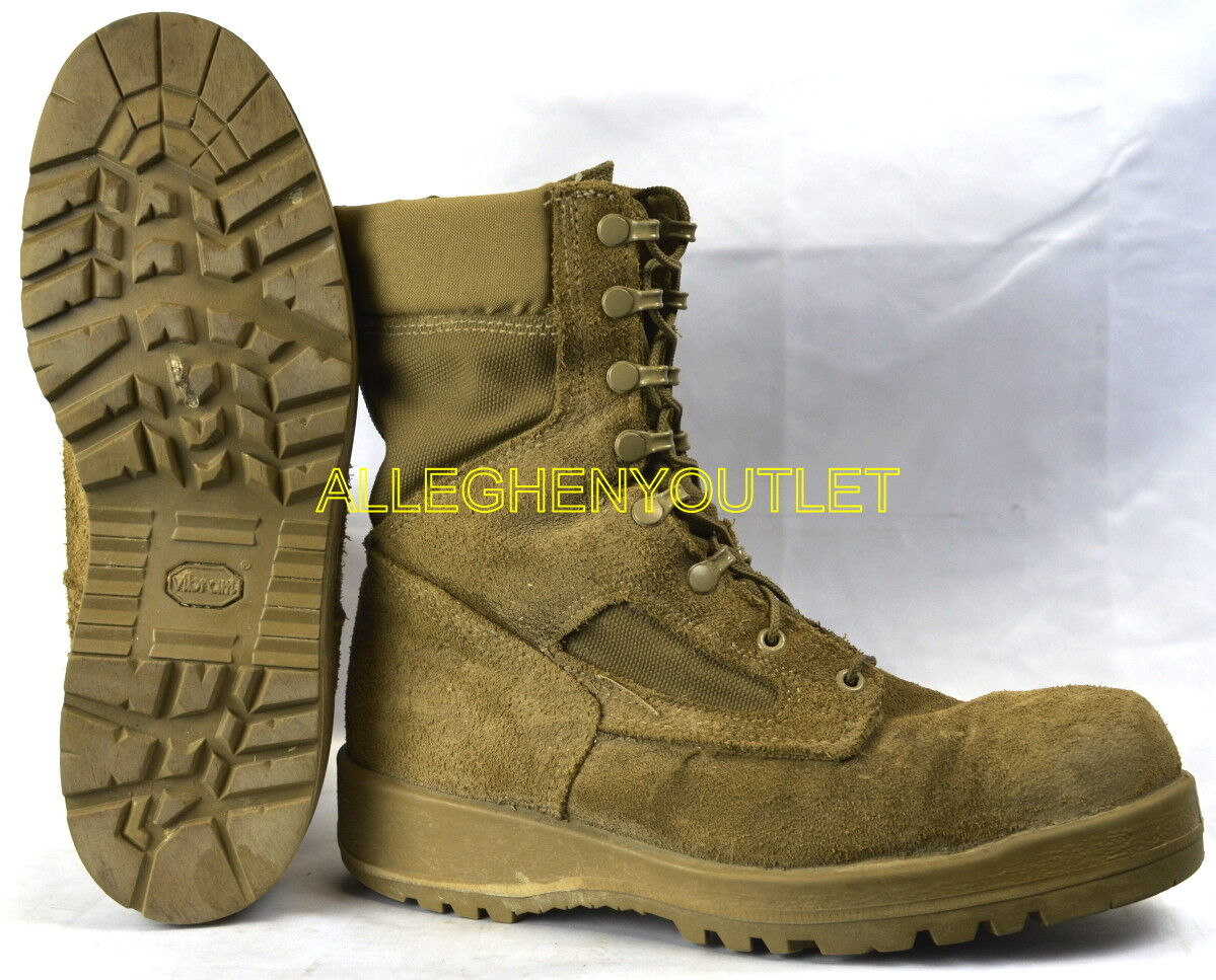 USMC US Military GORETEX ICB COMBAT Stiefel Vibram Soles Coyote USA Made EXC